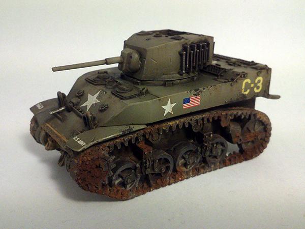 M5A1 Stuart - WIP