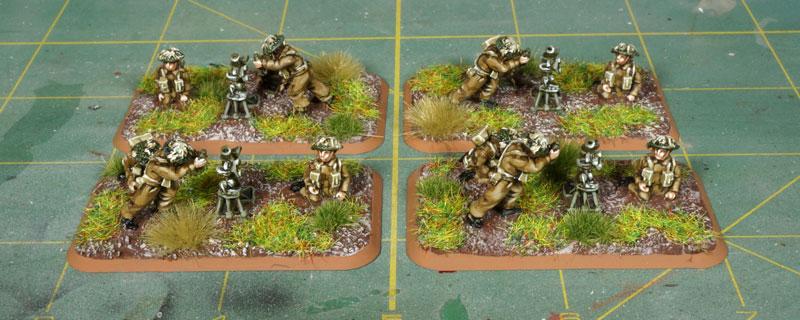 Flames of War – British Mortar Platoon
