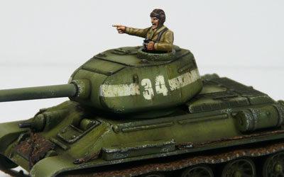 WIP – T-34/85 Plastic Soldier – Part III