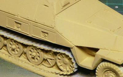 WIP – 28mm Sd.Kfz. 251/1D – Part I