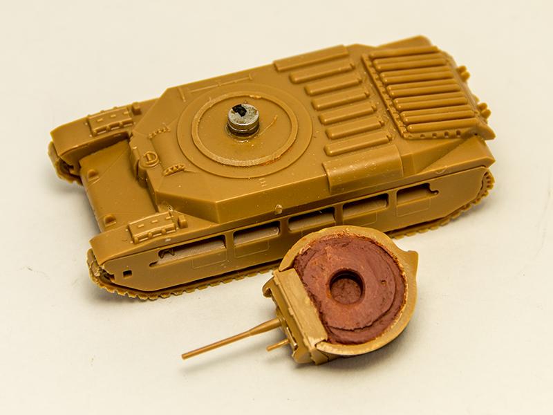 Matilda MK.II - Ajustando la torreta