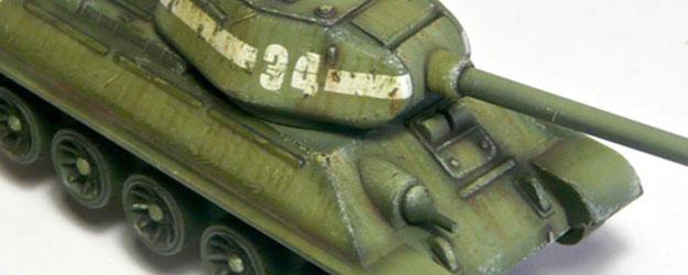 WIP – T-34/85 Plastic Soldier – Part I