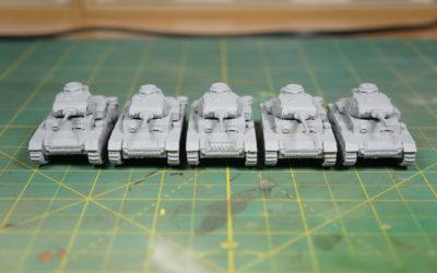 WIP – Battlefront Panzer III J Platoon – Part I