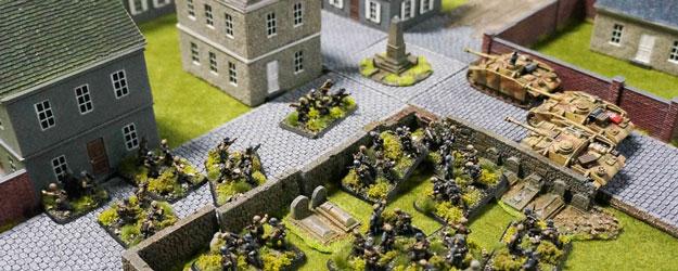 Flames of War demonstration game in Goblin Trader