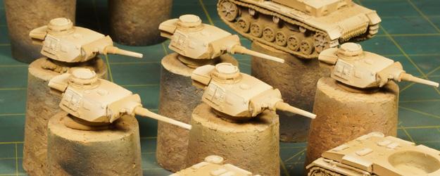 WIP – Battlefront Panzer III J Platoon – Part II Base color