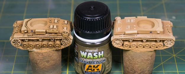 WIP – Battlefront Panzer III J Platoon – Part III Washes