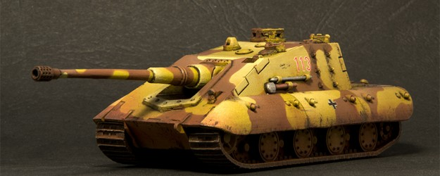 E-100 Jagdpanzer Krokodil | ModelBrush
