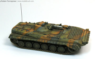 BMP1 in Syrian service (1973): masking with Blu-Tack