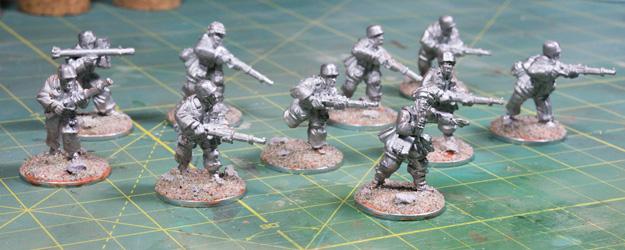 Fallschirmjäger 1000 point army for Bolt Action