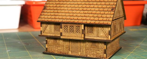 Eleven Tree Designs Tudor House 15mm – Building