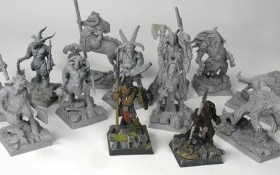 Mordheim – Beastmen Raiders