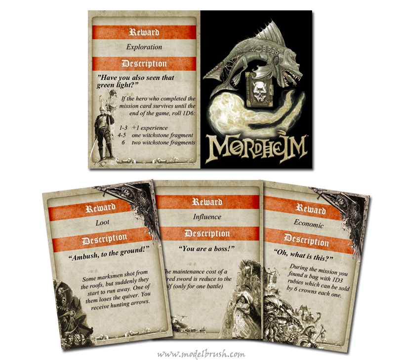 Mordheim cards