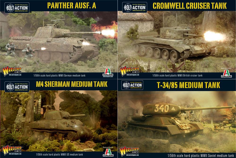 Warlord new Plastic Tanks