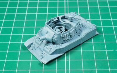 1/72 Light tank M5 Stuart upgrades