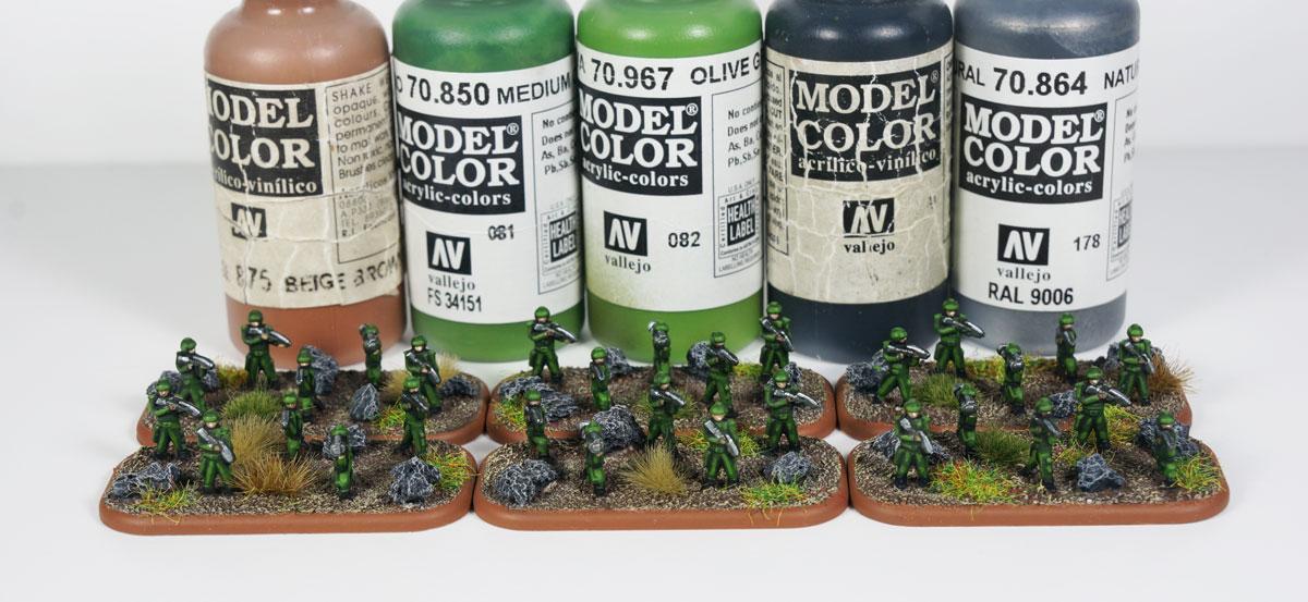Dropzone Commander - UCM Legionnaires
