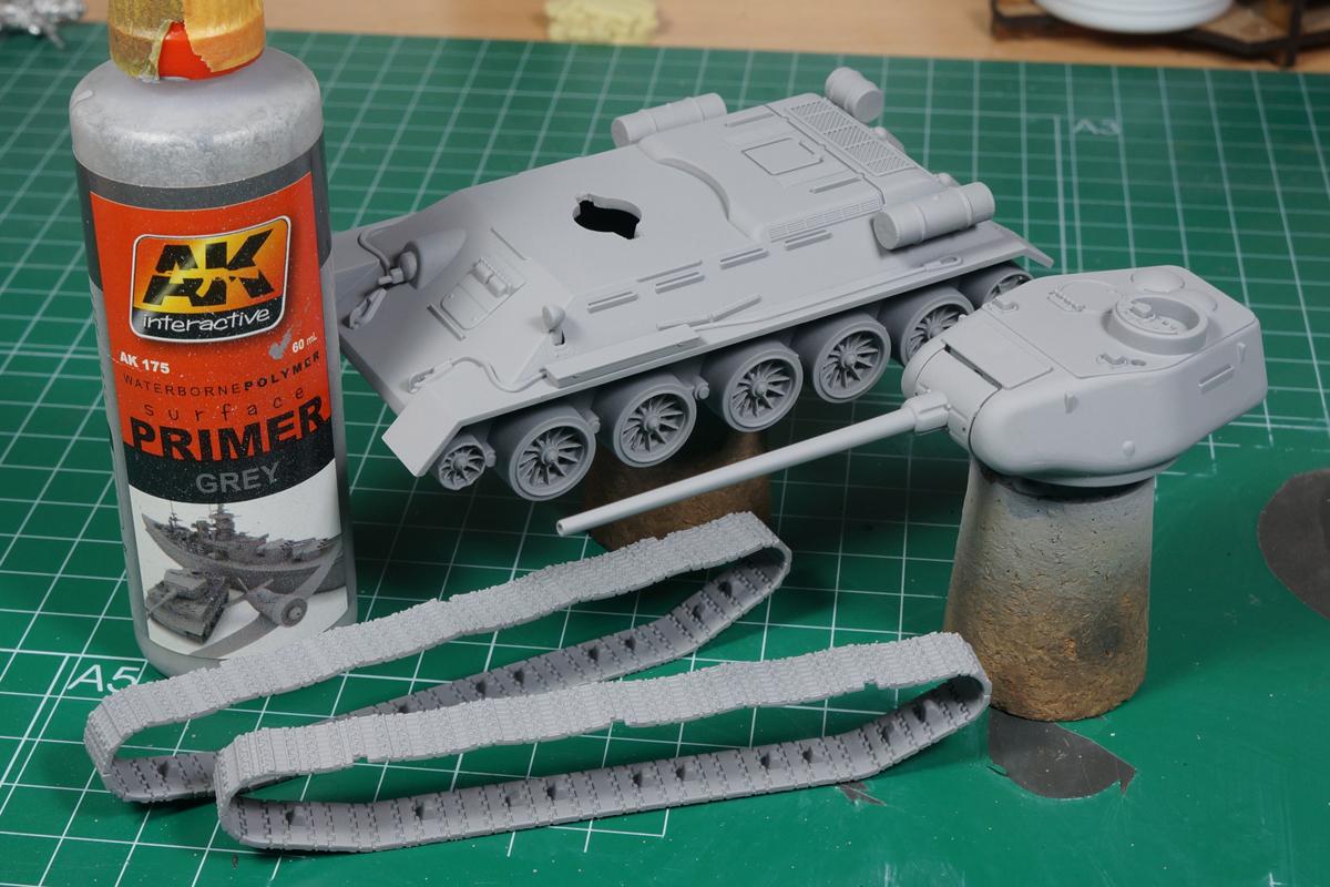 Bolt Action T-34/85