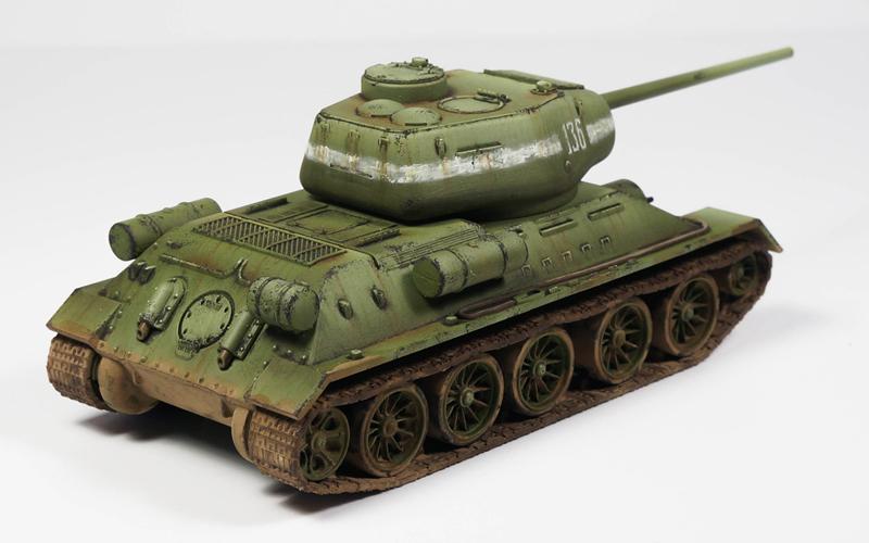 Bolt Action – T-34/85