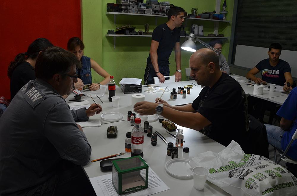 IV Weathering Workshop organized by ModelBrush