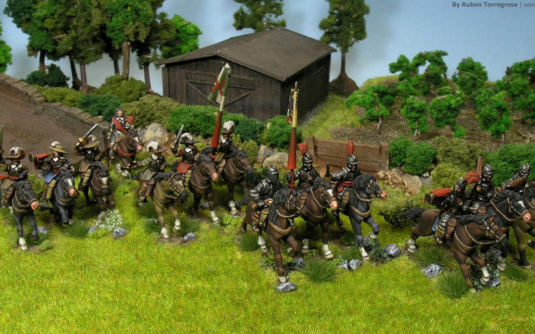 Santiago y cierra España! Cuirassiers for my TYW Imperial army