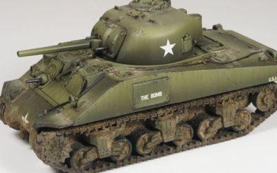 Bolt Action – Tips de pintura para M4 Sherman