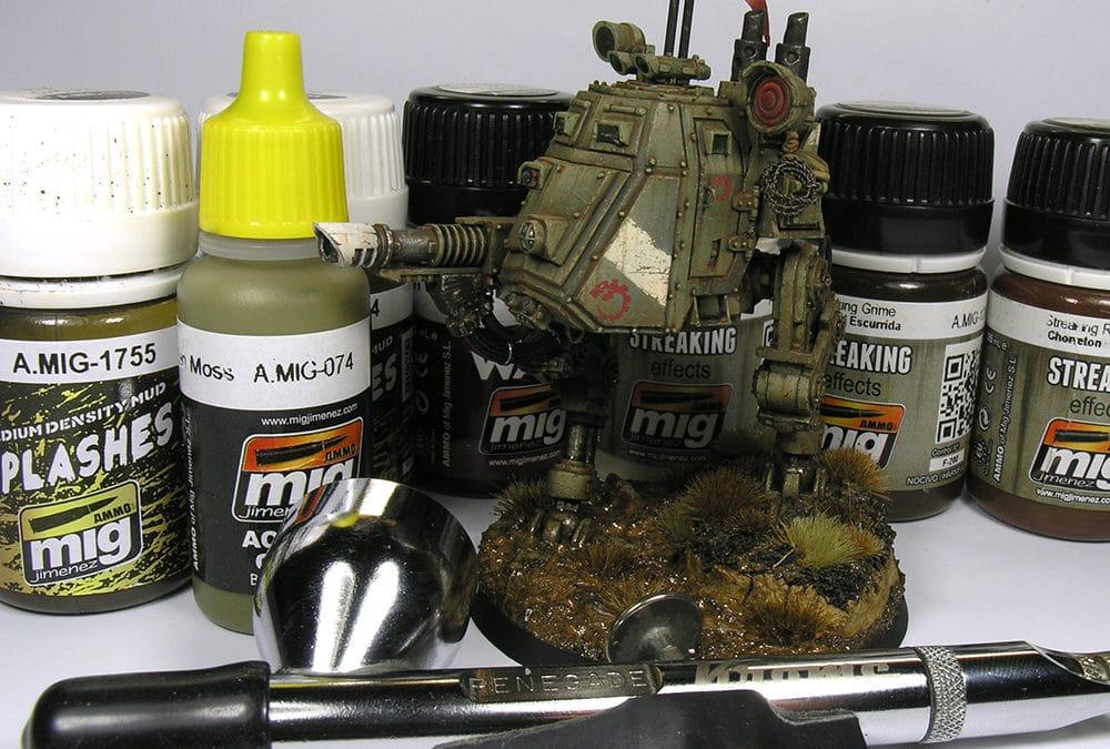 Warhammer 40k: Pintando un Sentinel del Culto Genestealer