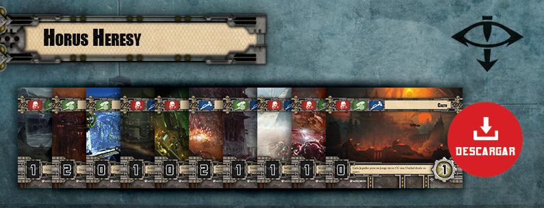 Mazos de planetas alternativos Warhammer 40.000 Conquest