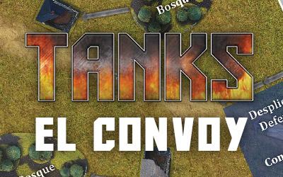 El convoy: escenario para TANKS