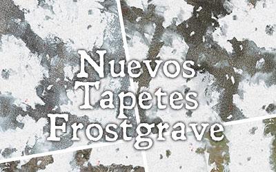Nuevos tapetes para Frostgrave
