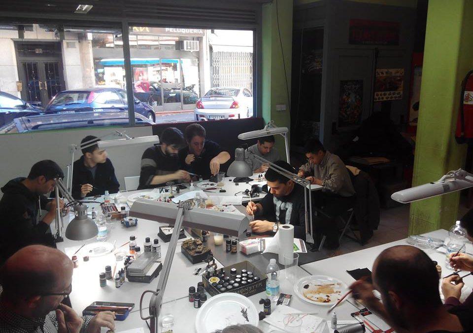 V Taller de envejecimiento en Goblin Trader Sur (Madrid)