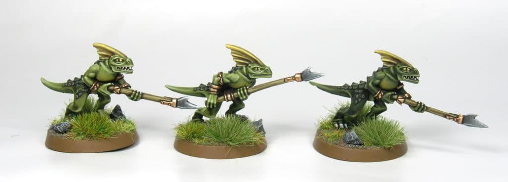 Salamandra Seraphon Age of Sigmar