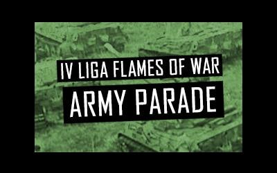 IV Liga Flames of War GoblinTrader: Army parade
