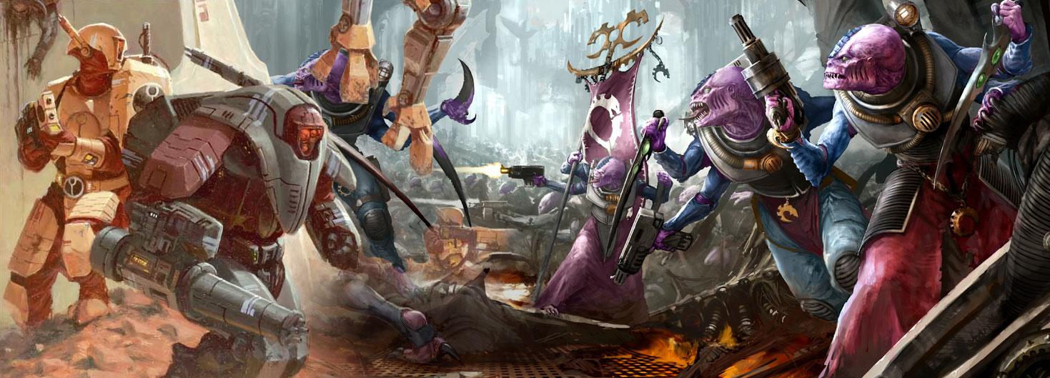 Culto genestealer vs tau Warhammer 40000