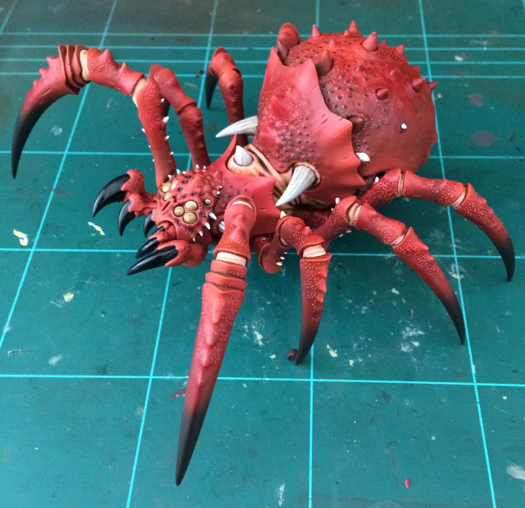 Arachnarok de Spiderfang Grots Age of Sigmar
