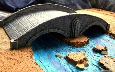 Construir puentes con PVC espumado