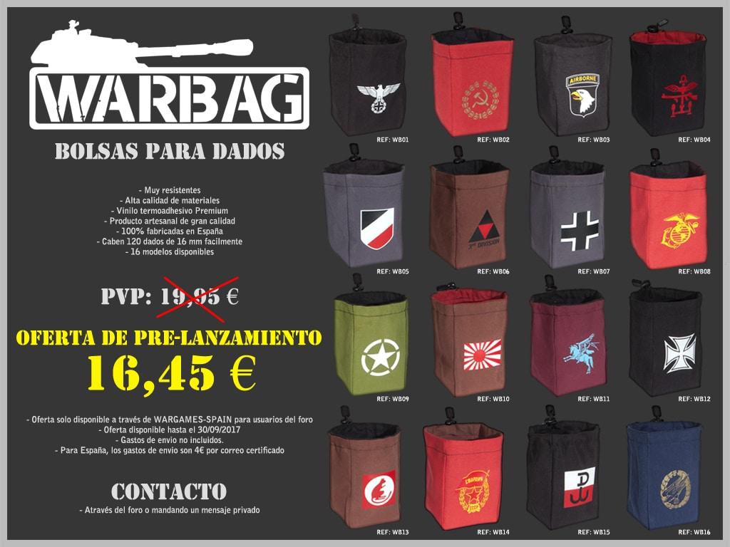 Bolsa para dados Warbag