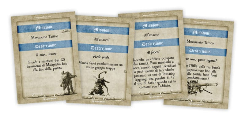 Mordheim, missioni secondarie (italian version)