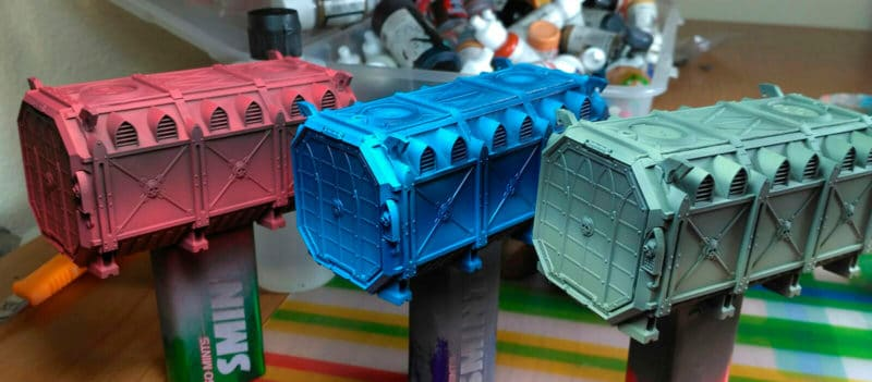 Escenografía: Warhammer Armoured Containers