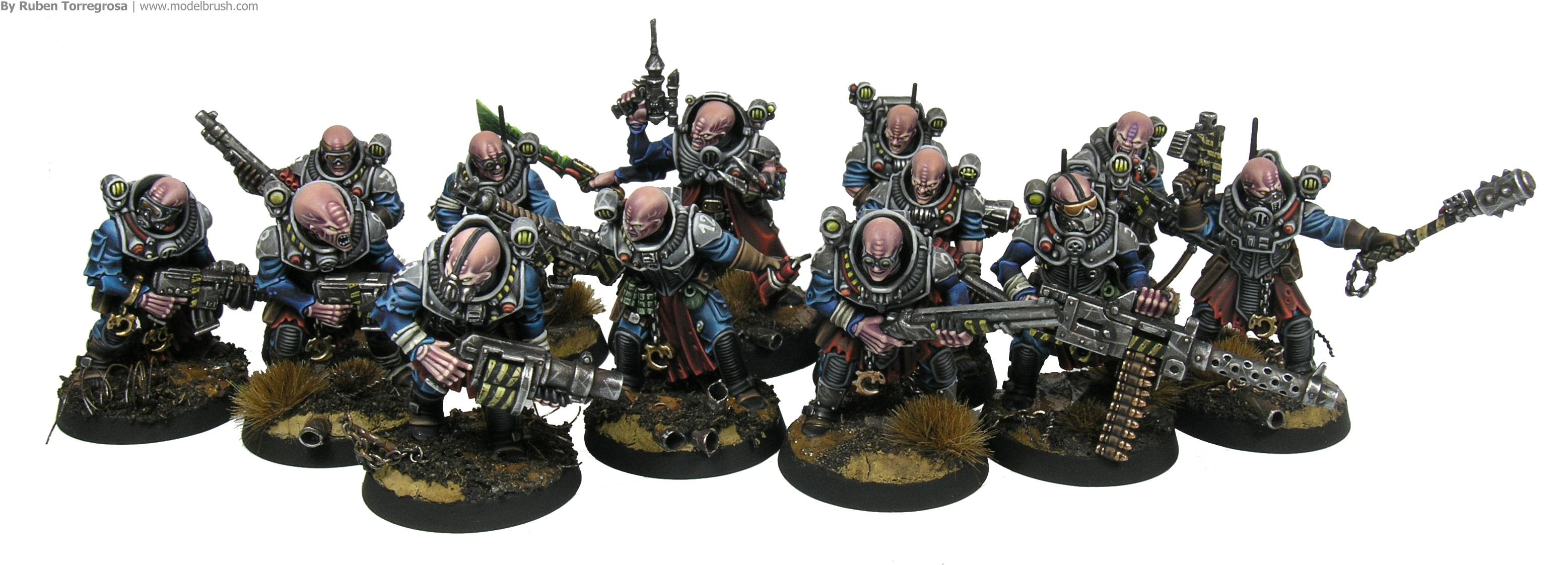 Culto Genestealer en warhammer 40000