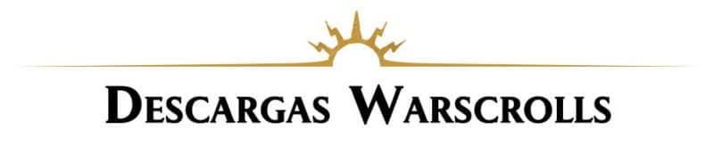 Descarga Warscrolls para Age of Sigmar