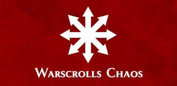 Descarga gratis warscrolls Warhammer Age of Sigmar Chaos