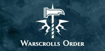 Descarga gratis warscrolls Warhammer Age of Sigmar Order