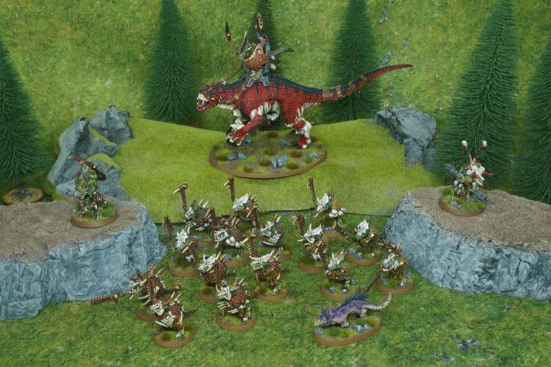 Ejército Seraphon para Age of Sigmar