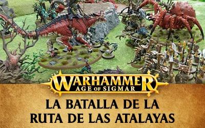 Informe de batalla Warhammer Age of Sigmar