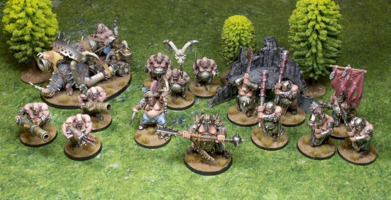 Ejército ogors para Age of Sigmar