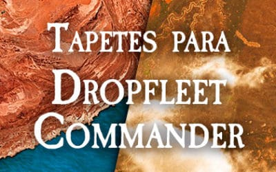 Tapetes orbitales para Dropfleet Commander