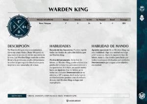 Tarjetas de Warscrolls Duardin Dispossessed