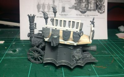 Conversión de Steam Tank de Von Zeppel