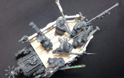 Tripulación personalizada para Freeguild War Wagon y Von Zeppel's Steam Tank