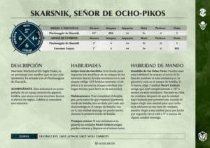Nuevas tarjetas de Warscrolls para Age of Sigmar