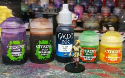 Guía de pintura rápida de zombies